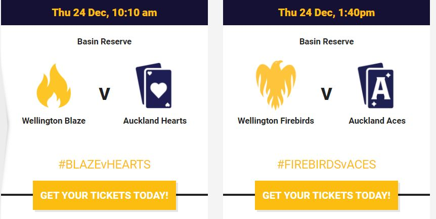 Auckland Aces vs Wellington Firebirds, 1st Match – Live Streaming, Live Score | Super Smash Women T20  |  Aces v Firebirds Live