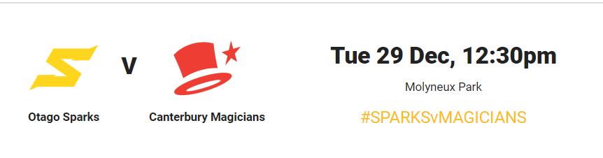 Dream11 Super Smash Women 2020-21: Otago Sparks vs Canterbury Magicians Live Score,live streaming,match preview,playing11,squad
