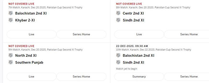 Pakistan cup 2020-21 Live  – Ptv sports live