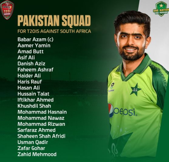 Pakistan vs South Africa 1st T20 to  go Live today evening