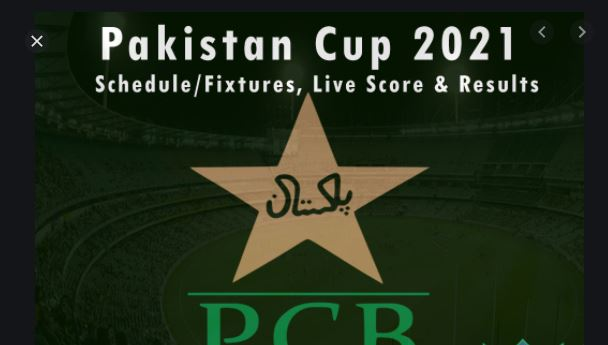 Pakistan Cup 2020 Live Streaming  Telecast Schedule for Live Streaming telecast