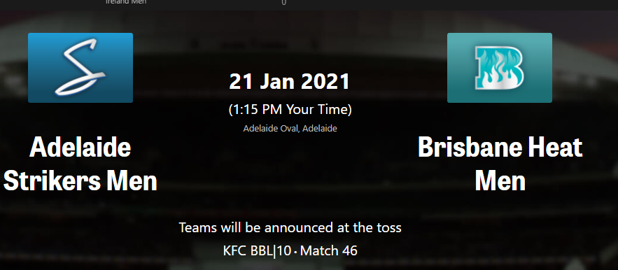 BBL10 Updates January 20, 2021 :Most runs , Most wickets, Most points #Match 45 Big Bash League