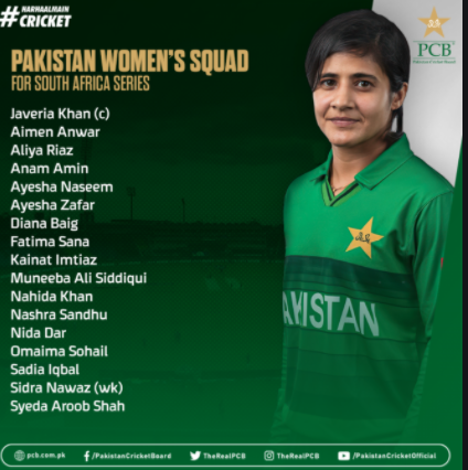 Pakistan Women vs South Africa Women 1st ODI Preview, Head to Head Stats, Match schedule, live score, player to watch