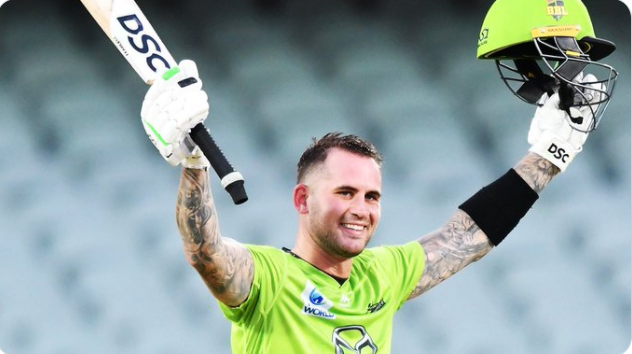 Alex Hales 110 -Syney Thunder highest totals in BBL history