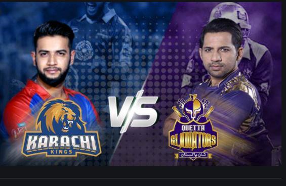 Karachi Kings vs Quetta Gladiators Head to Head Summary Score all matches -QG vs KK