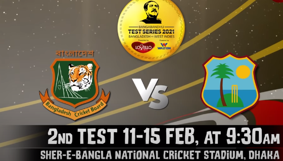 Bangladesh vs West Indies 2nd test match Statistical Preview- Match Preview BAN vs WI – Test records