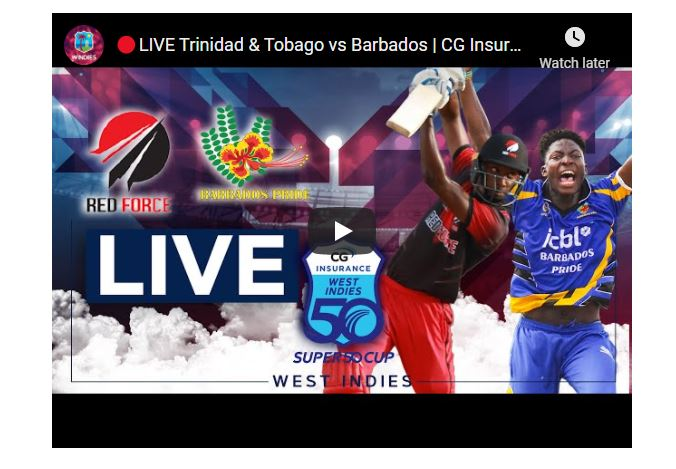 Super50 Live Streaming Tv channels | Where to Watch Live | LIVE FINAL | Trinidad & Tobago vs Guyana | CG Insurance Super50 Cup | TNT vs GUY