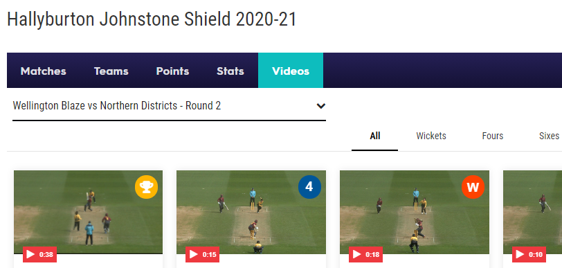 Hallyburton Johnstone Shield 2020-21 LIVE Score Match and Competition Center