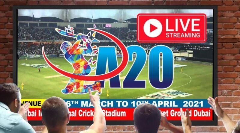 Asian Premier League A20 League 2021 Live streaming