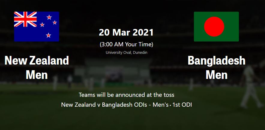 BANGLADESH VS NEW ZEALAND 2nd ODI Live streaming | BAN VS NZ  LIVE STREAMING TV CHANNELS GUIDE | WHERE TO WATCH LIVE