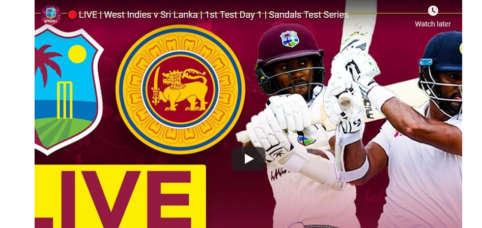 SL vs WI 1st Test Live Streaming – Playing XI – TV Channels Where to Watch Live