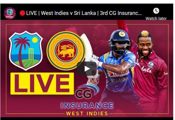 Sri Lanka vs West Indies ODI Live Streaming TV Channels – SL vs WI 3rd T20 | Where to watch live