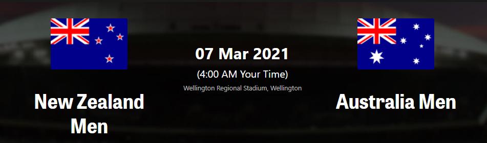 AUS vs NZ 5th T20I 2021– Dream11 Team Prediction , Fantasy Tips, Match preview Australia vs New Zealand