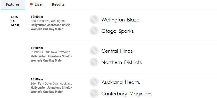 Auckland vs Canterbury Women Live Streaming, Live Score – ODI Cricket Live