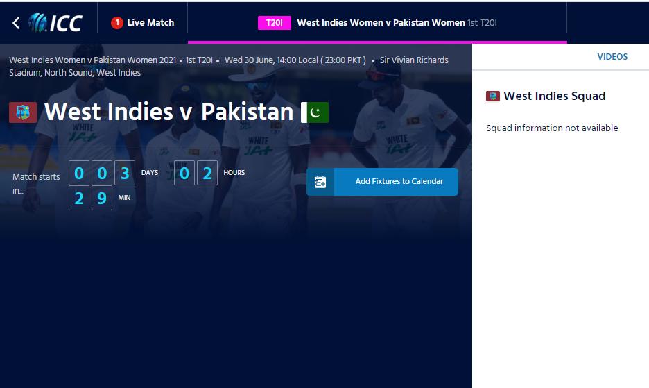 Pakistan women vs South Africa Women T20 Live Streaming TV Guide , Fixtures, Live Scorecard